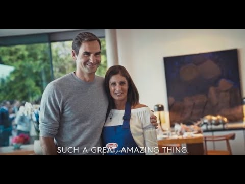 Dinner with Roger Federer: when a fan cooks for her lifelong hero