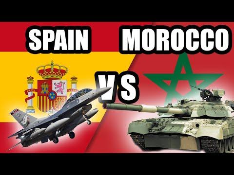 Spain vs Morocco - Military Power Comparison 2021