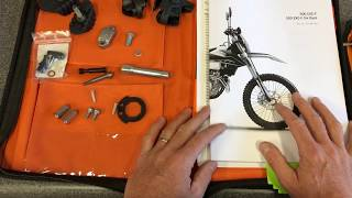 20-21 KTM 500 EXC-F OWNER'S MANUAL WALK THROUGH AND NEW BIKE TIPS