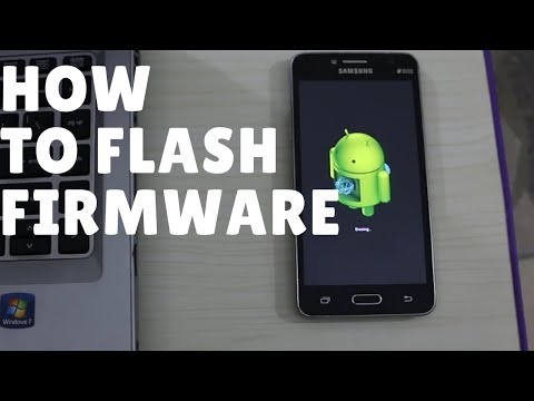 How to Install / Firmware Android Software Samsung Galaxy Grand Prime Plus