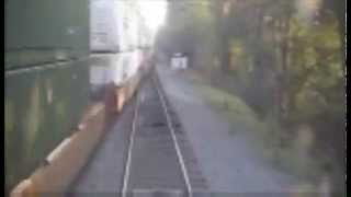 Amtrak-20: Stop Signal Violation ( A Crew's WORST Nightmare! )