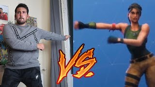 FORTNITE BAILES IN REAL LIFE CHALLENGE *LAMENTABLE* - ElChurches