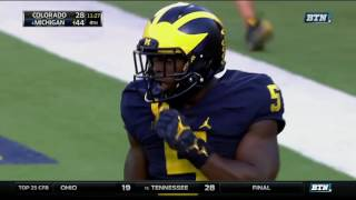 jabrill peppers cuts through colorado defense for punt return td