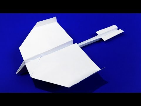 How to make a paper airplane that flies far - BEST paper airplanes in the world.