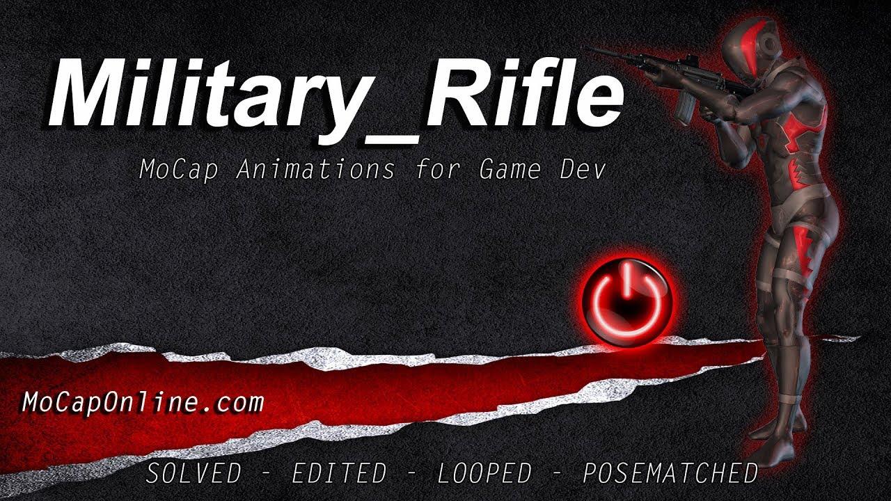 Rifle Pro: MoCap Animation Pack