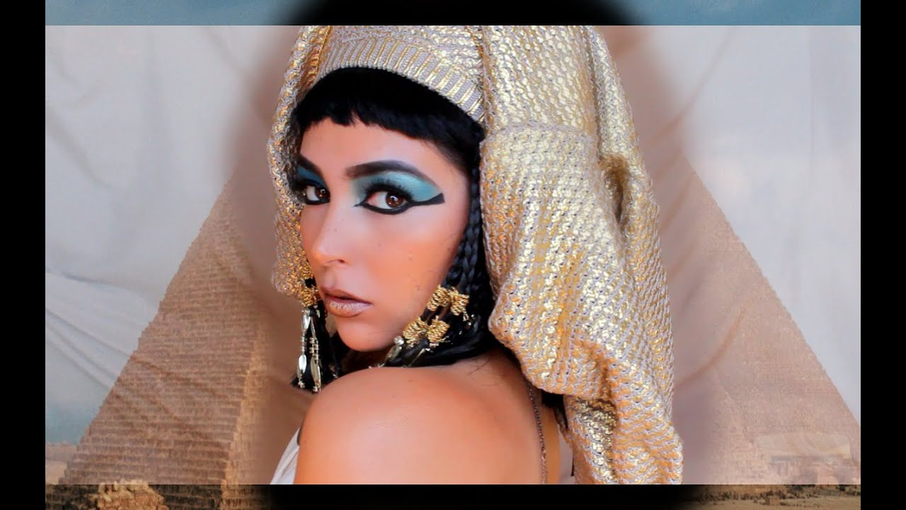 be3cdfaad Maquillaje y disfraz de CLEOPATRA! Super facil! - YouTube