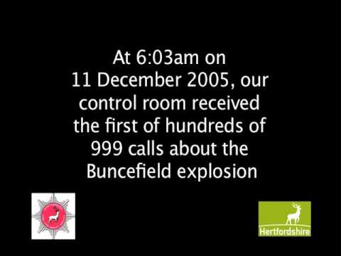 First Buncefield 999 call