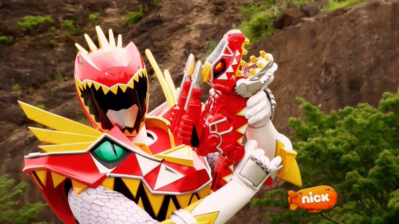 - Power Rangers Dino Super Charge - T-Rex Super Charge Red Ranger's