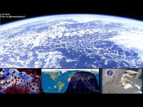 Earth From Space (HD Cams) ISS Live Stream #ISS | Live Nasa Feed