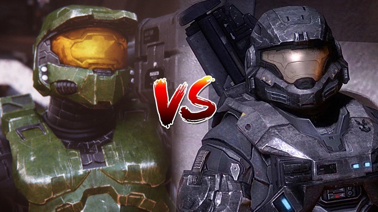 Spartan Showdown: Noble Six vs Master Chief - YouTube