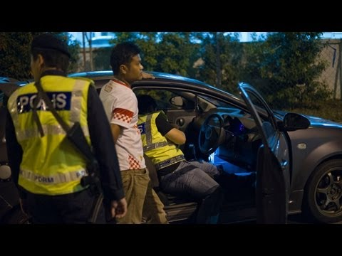 Gangsters caught after shootout in Malaysia