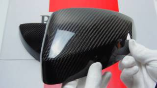 audi a3 s3 rs3 carbon fibre mirror covers full replacements