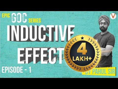 Inductive Effect - Organic Chemisty - GOC | 11th 12th JEE Mains| JEE Advanced| NEET| CBSE| Pahul Sir