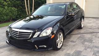 Download 2011 Mercedes Benz E550 4Matic Review and Test Drive by Bill   Auto Europa Naples Mp3 and Videos