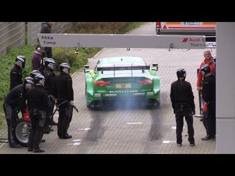 Audi RS5 DTM - Brutal SOUNDS & Pitstops!