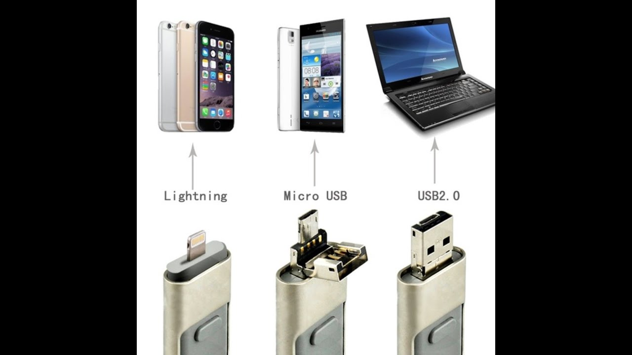 3 in 1 flash drive for android iphone ipad pc youtube for Ipad o android