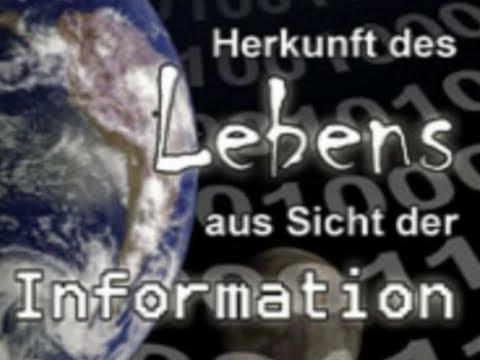 Dr. Werner Gitt - Herkunft des Lebens aus Sicht der Informatik (2007)