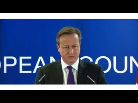 "British Prime Minister David Cameron Says Snowden ""Helping Enemies"""