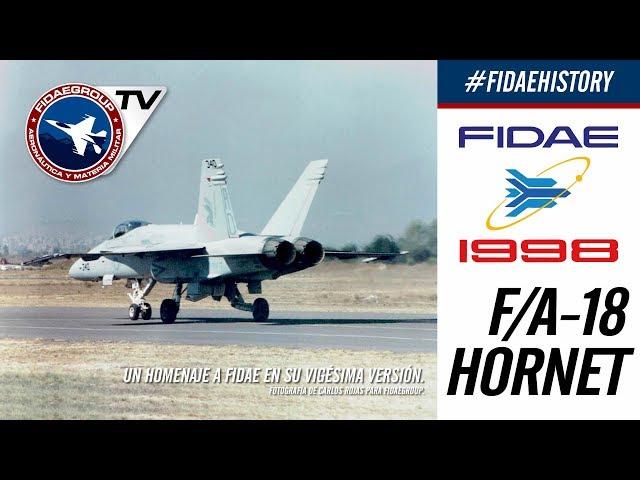 INCREIBLE Presentación Boeing F/A-18 Hornet en FIDAE 1998, Proyecto F2000 FACH