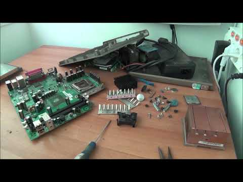 Salvaging Parts From Two Old Computers - A DELL OptiPlex And A No-name