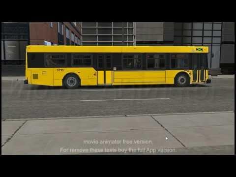 OMSI 2 JUTC Bus  In Chicago