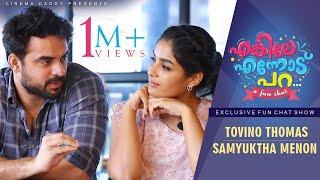 Enkile Ennodu Para | Tovino Thomas & Samyuktha Menon | Exclusive Fun Chat Show | Theevandi Special