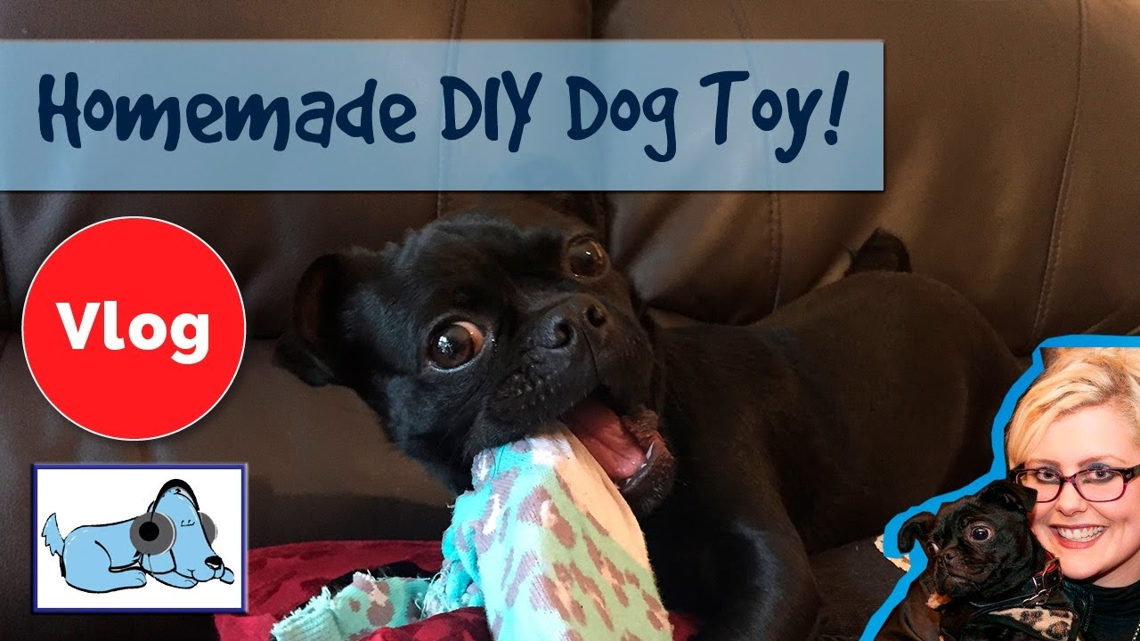 How To Make A Diy Homemade Dog Toy! Easy To Make Dog Toy