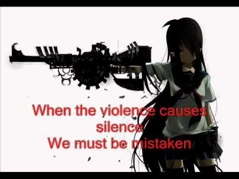 Nightcore - Zombie WITH  ON SCREEN