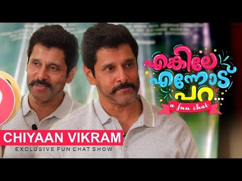 Enkile Ennodu Para | Chiyaan Vikram | Exclusive Fun Chat Show | Sketch Special | Cinema Daddy