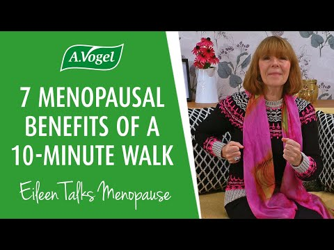 7 menopausal benefits of a 10-minute walk