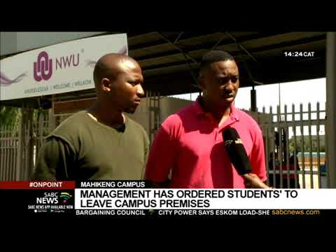 Tensions Mount At North West University