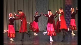 Народно-сценический танец. Часть 1