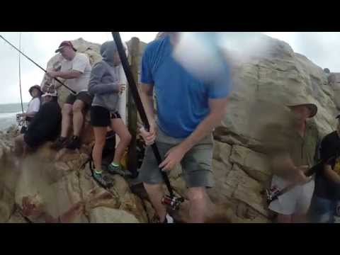 Shark Fishing with Shawn Mey. Mossel Bay, South Africa