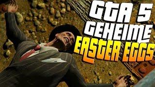 GTA 5: GEHEIME EASTER EGGS | GTA 5 NEUE EASTER EGGS !