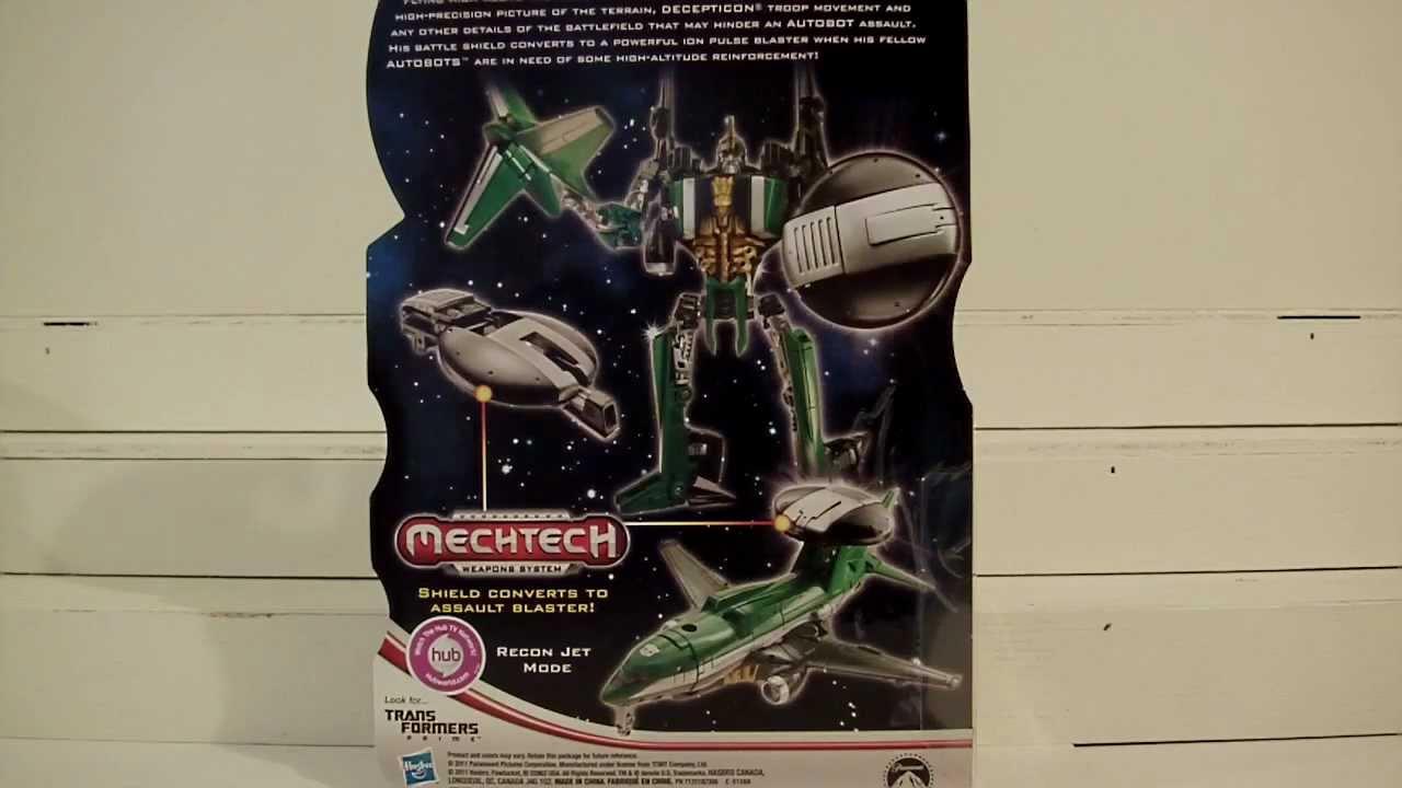 Transformers DOTM AIR RAID Toy Review - YouTube