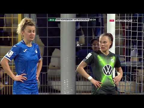 Frauenfußball Bundesliga 2019 20 14  Spieltag TSG Hoffenheim Vs  VFL Wolfsburg