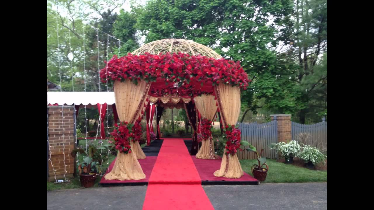 Mandap Decoration For Marriage Youtube