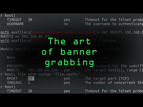 How Hackers Can Steal Information from Computers Using Banner Grabbing