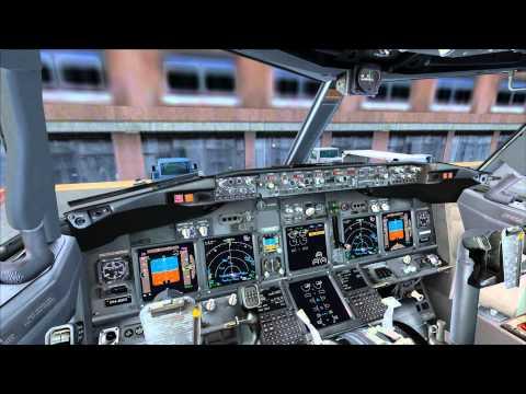 FSX PMDG B737-900WL NGX KLM Flight to EuroAirport Basel-Mulhouse-Freiburg LFSB HD.
