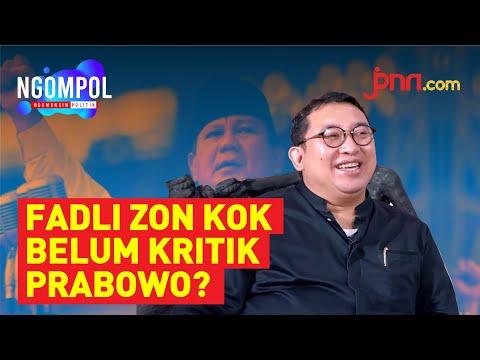 Fadli Zon Ungkap 8 Alasan Prabowo Jadi Menhan (Part 1)