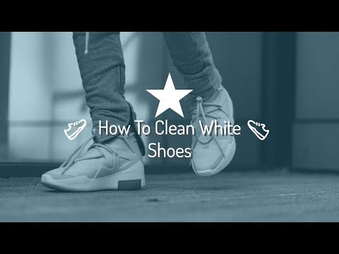 How To Clean White Shoes Without Baking Soda! | *WORKS* |EXTREMELY FAST METHOD| Will it Clean? Ep.1