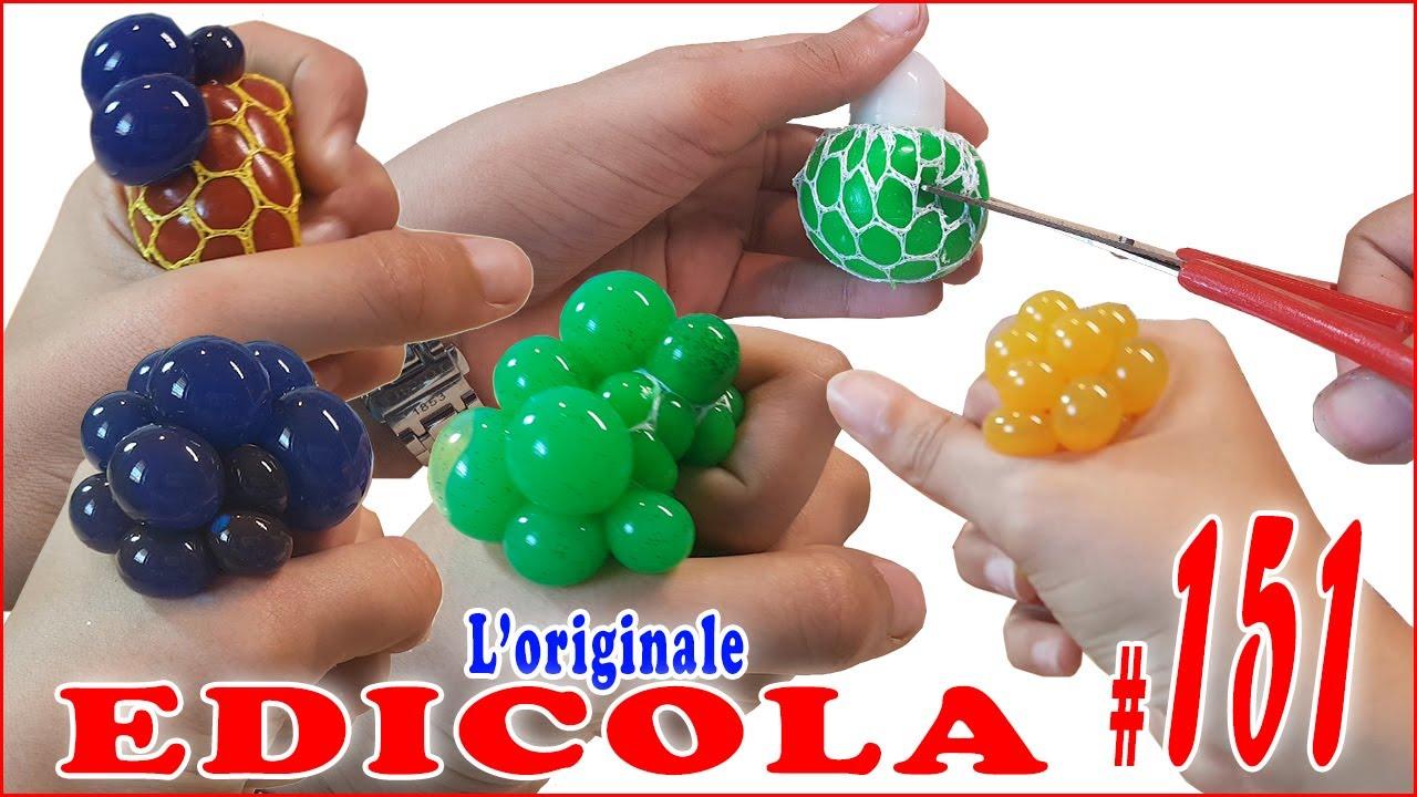 Squishy Ball Slime : SQUISHY BALL SLIME da Tagliare (EDICOLA by Giulia Guerra) - YouTube
