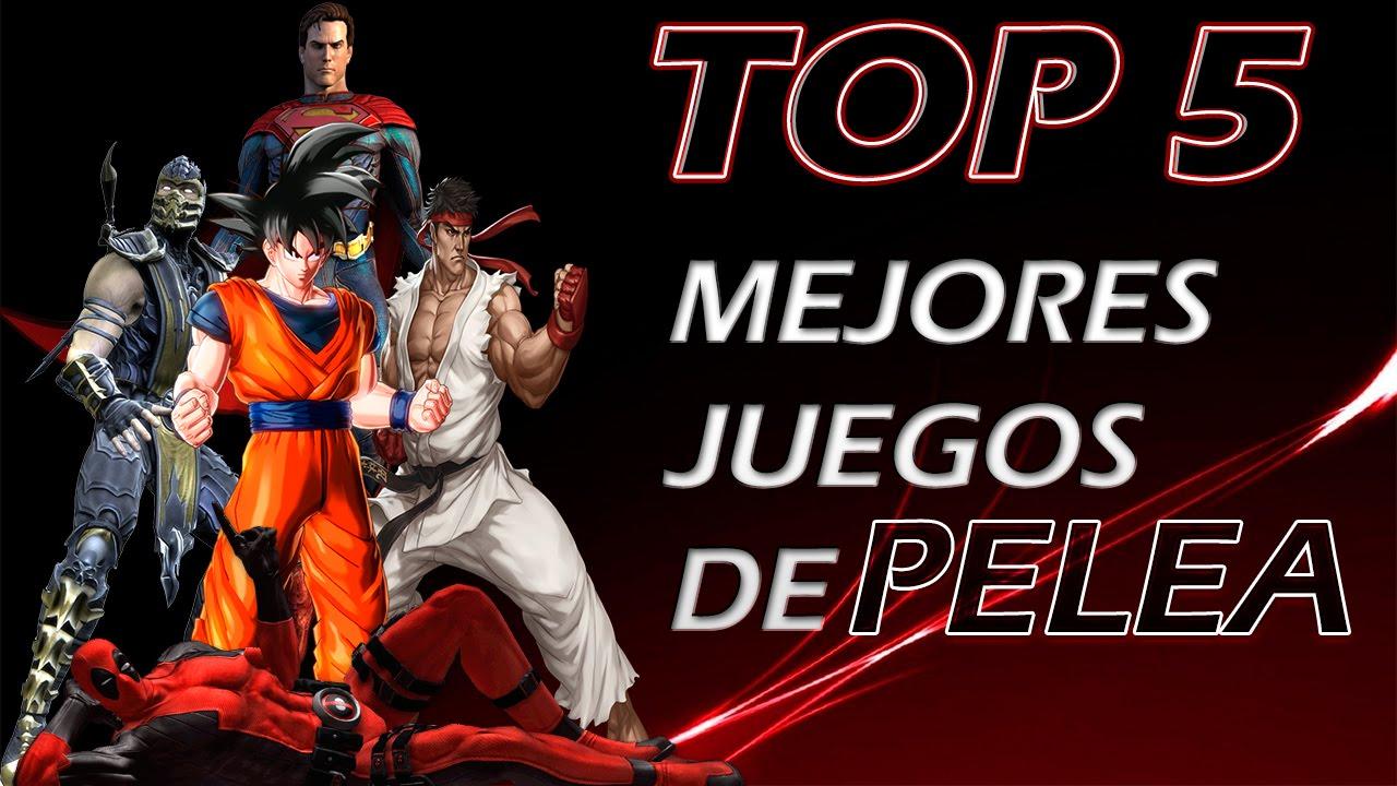Top 5 Mejores Juegos De Pelea Ps4 Xbox One Ps3 Xbox 360 Pc Bonus