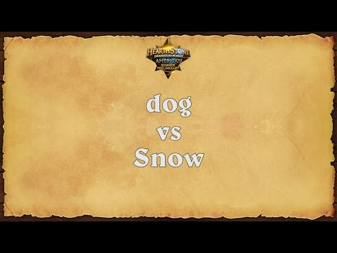 dog vs Snow - Americas Summer Preliminary - Match 1