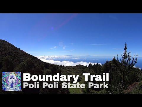 Kula State Park - Boundary Trail Run