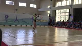 104全國有氧體操錦標賽 國中女單第一名-----夏薇