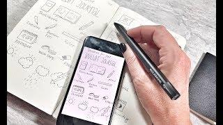 Meine Erfahrung Mit Dem Moleskine Smart Writing Set Werbung Sketchnotes By Diana