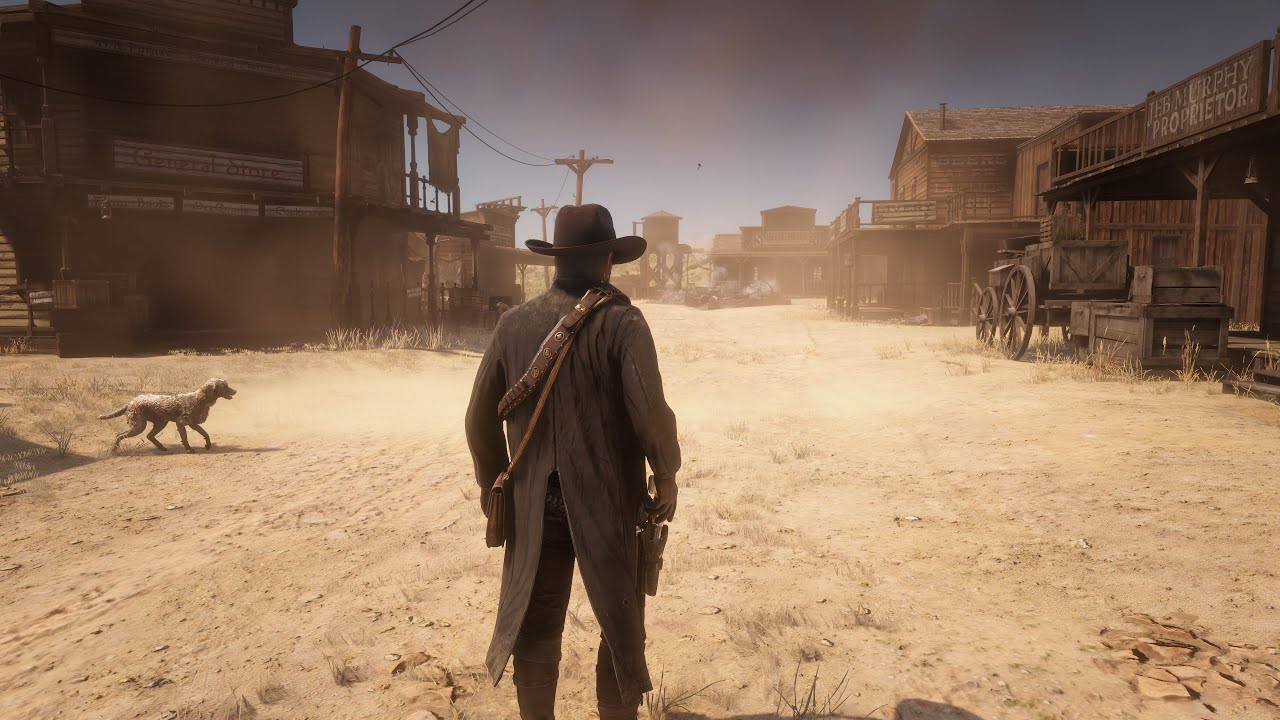 ⁴ᴷ⁶⁰ RDR 2 - Dual Revolvers Gunslinger WILD WEST Gameplay | PC 4K MAX ULTRA Settings | RTX™2080 Ti