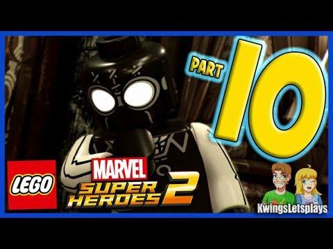 Lego Marvel Super Heroes 2 Walkthrough Part 10 Noir Night Mayor