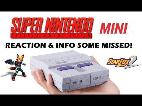 SNES Mini - Reaction & Info Some Missed!